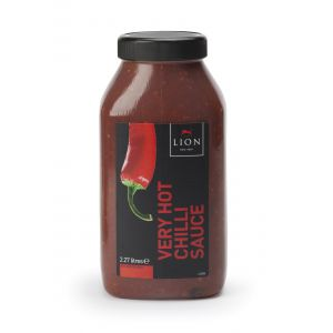 Lion - Very Hot Chilli Sauce 2.27ltr (tub)