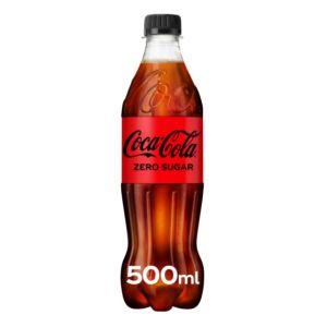 Coke Zero Sugar - (GB) 500ml x24 (bottles)