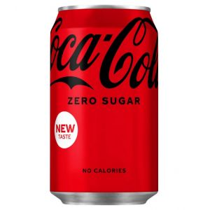 Coke Zero Sugar - (GB) 330ml x24 (cans)