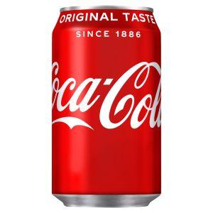 Coke - (GB) 330ml x24 (cans)