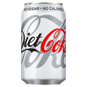 Coke Diet - (GB) 330ml x24 (cans)