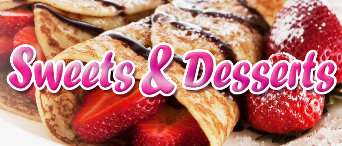 Buy Desserts and Sweets In Manchester