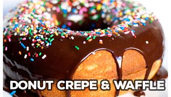 donut crepe & waffle mix