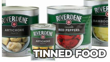 tinned food