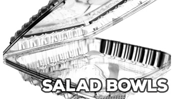 Plastic Salad Bowls
