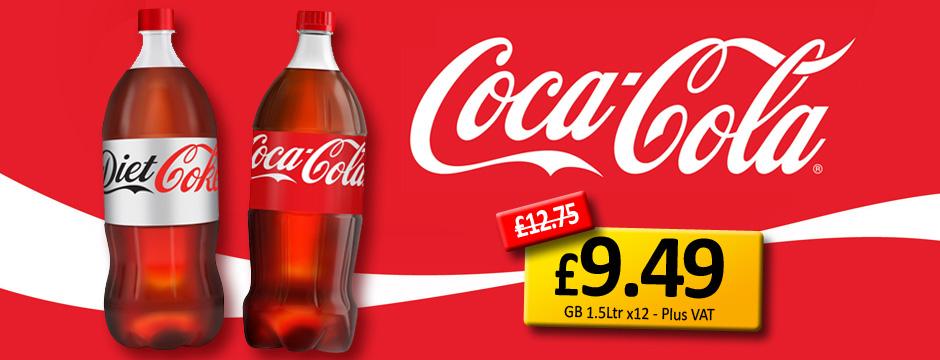 Coke 1.5Ltr Wholesale In Manchester