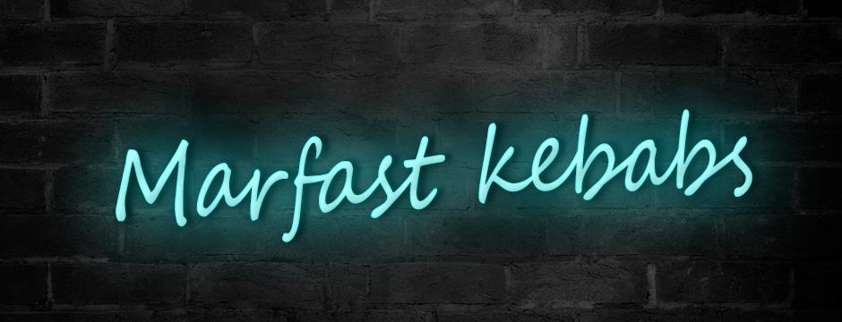 Neon Kebab Sign
