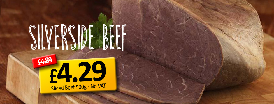 Sliced Beef Wholesale In Manchester